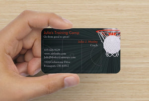 "Business Cards - Rounded Corner 3.5"" x 2"" (FRONT PRINT ONLY)"