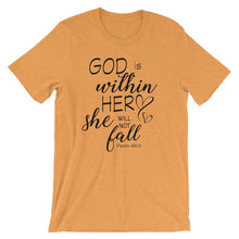Load image into Gallery viewer, Women's T-shirts: God is within her