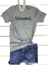 Load image into Gallery viewer, Women's T-Shirt: Blessed