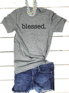 Women's T-Shirt: Blessed
