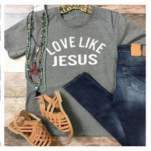Load image into Gallery viewer, Women's T-Shirt: Love Like Jesus