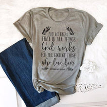 Load image into Gallery viewer, Women's T-Shirt: God works