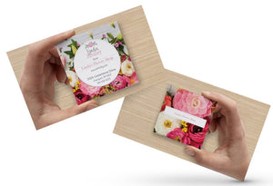 "Business Cards - Square 2.5"" x 2.5"" (FRONT & BACK PRINT)"