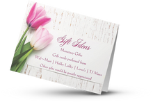 "Load image into Gallery viewer, Invitations - 5"" x 7"" Folded - Premium matte"