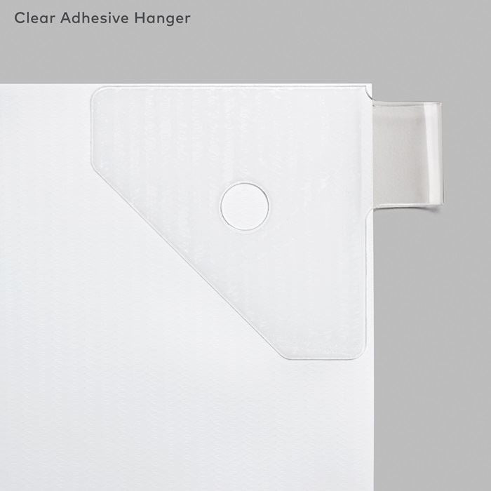 Vinyl Banner Accessories - Clear Adhesive Hangers
