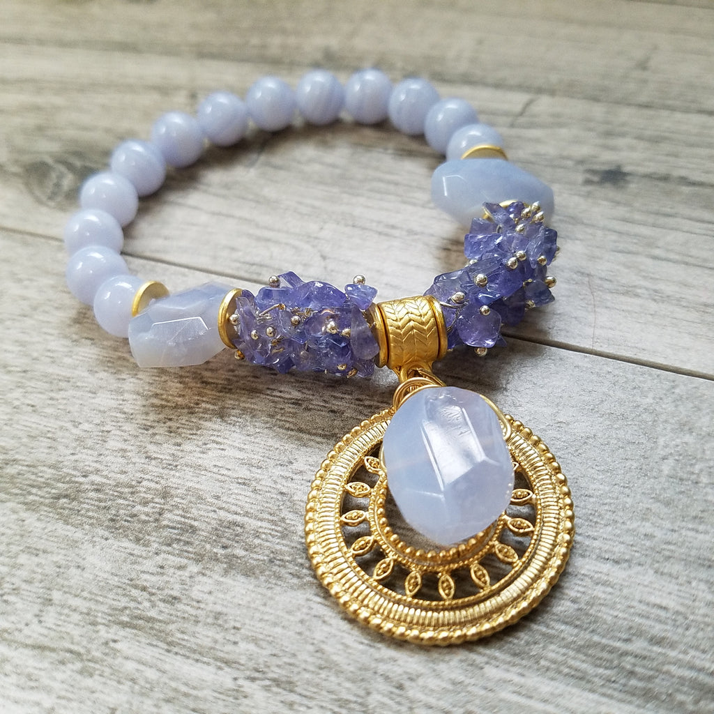 Gift of Emotional Calmness: Delicate Chalcedony