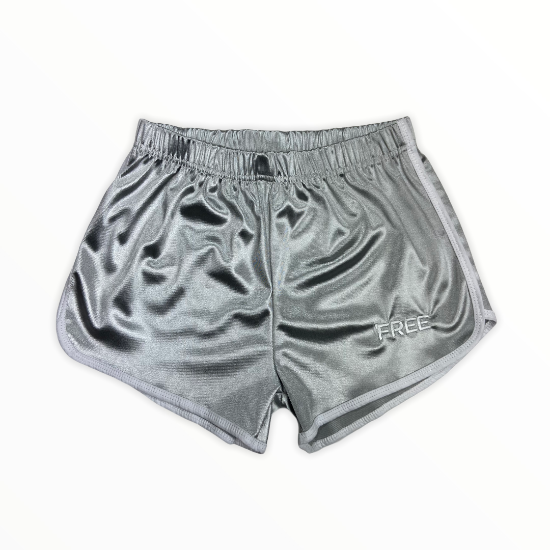 Signature MEATing Shorts Silver