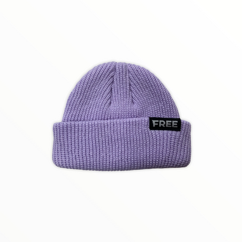 Signature Fisherman Beanie Lavender