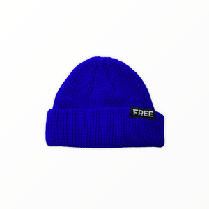 Signature Fisherman Beanie Blue