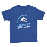 Gravity Is For The Weak Long Jump Track T-Shirt