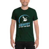 Gravity Is For The Weak Pole Vault Track T-Shirt