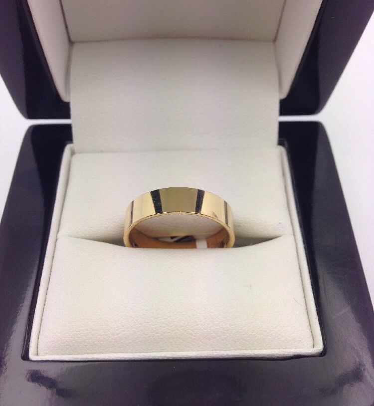 18CT/18K Yellow Gold Ring Size N (Guaranteed Genuine) #17657