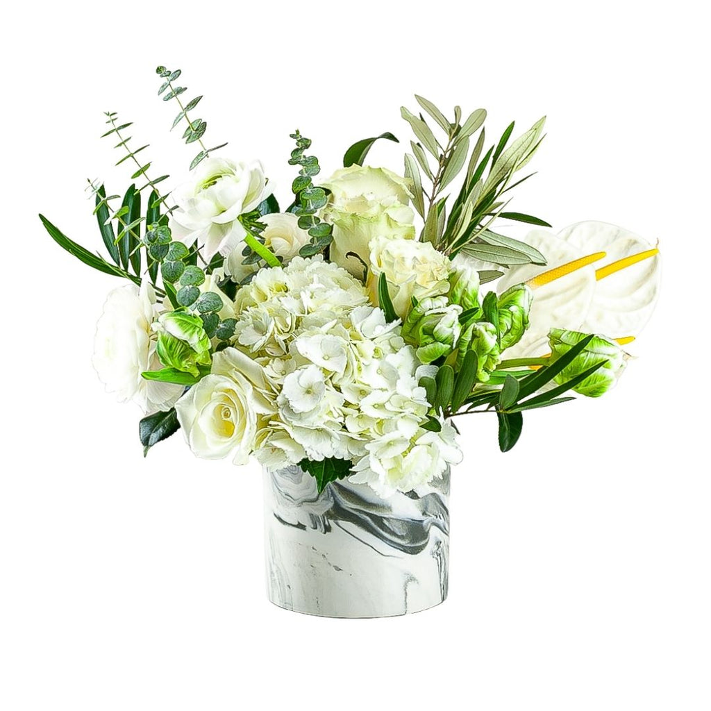 Sympathy Flower Collection from Green Fresh Florals + Plants