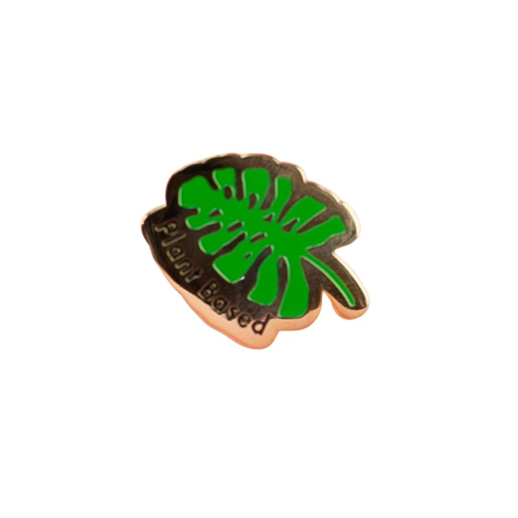 Monstera Leaf Plant Pin