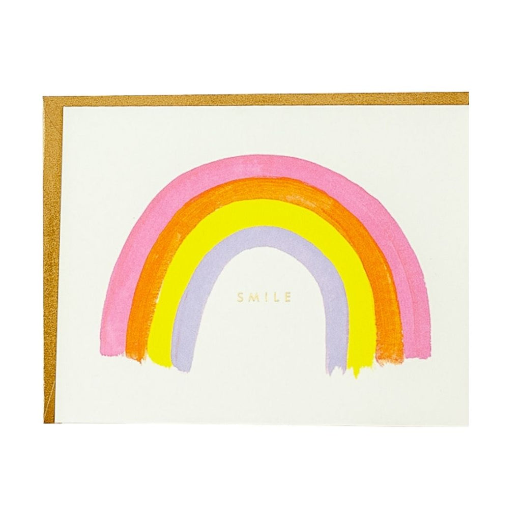 Under the Rainbow Smile Card