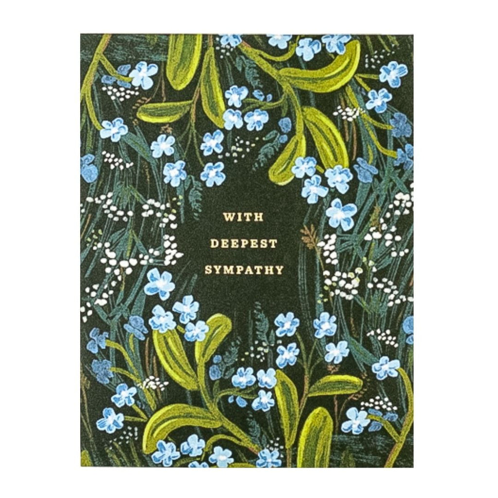 Deepest Sympathy Bouquet Card
