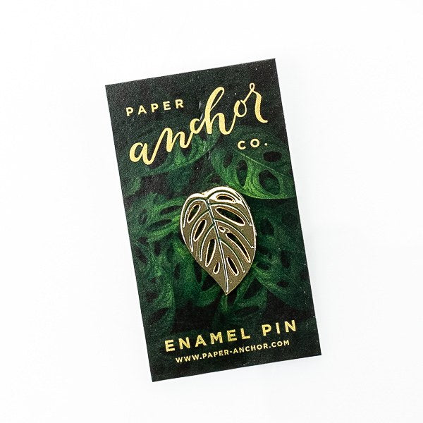 Monstera Adansonii Lapel Pin