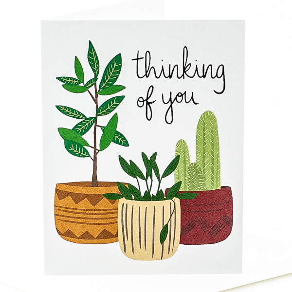 Thinking of You Plant Trio Card