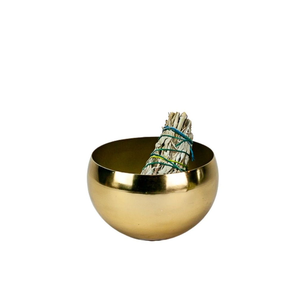Gold Metal Bowl