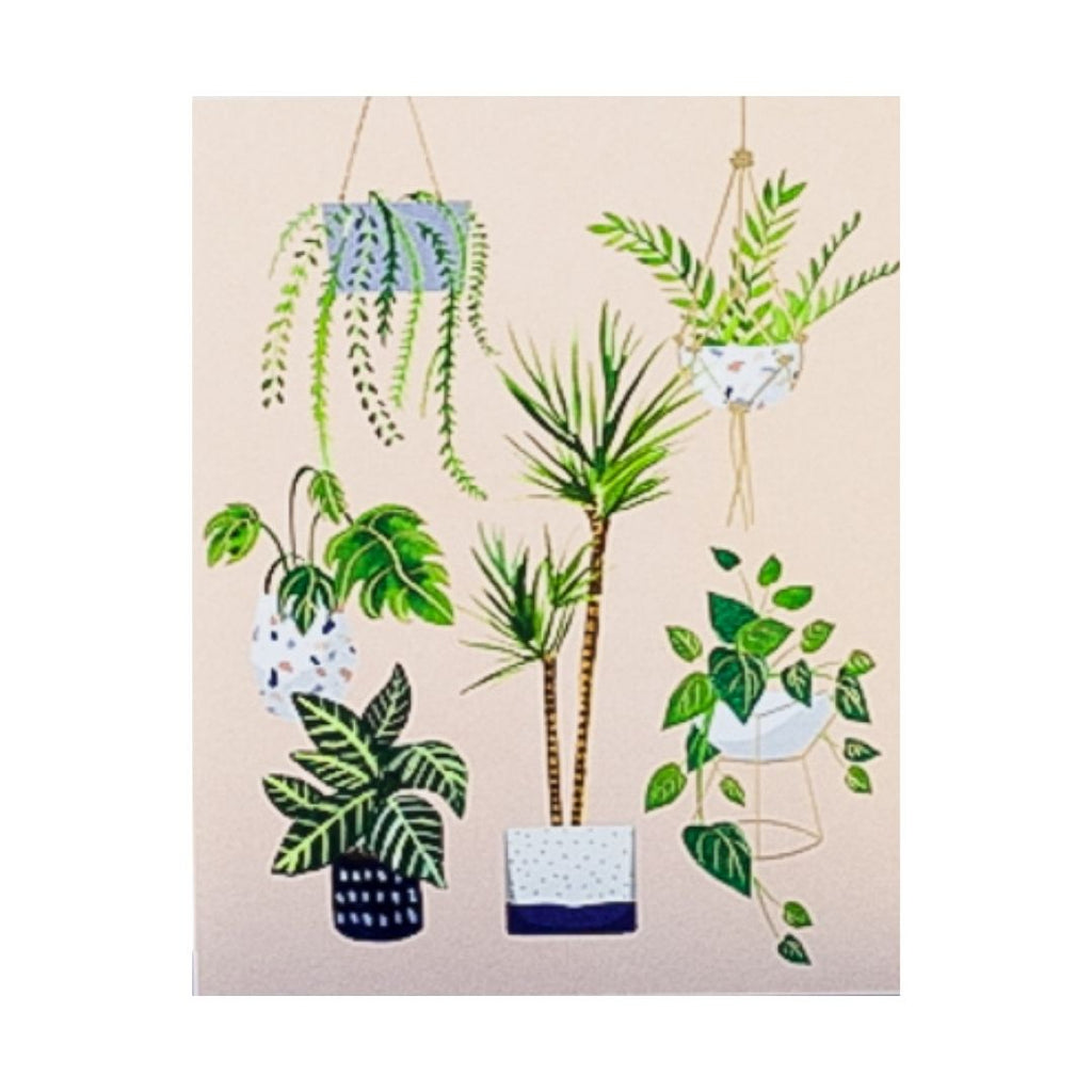 Houseplant Lovers Greeting Card