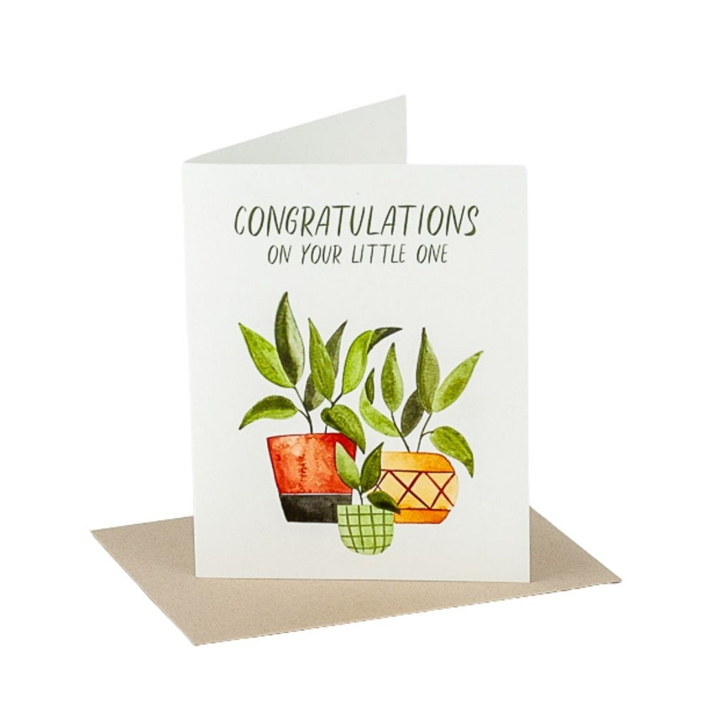 Congrats on Your Little One Card