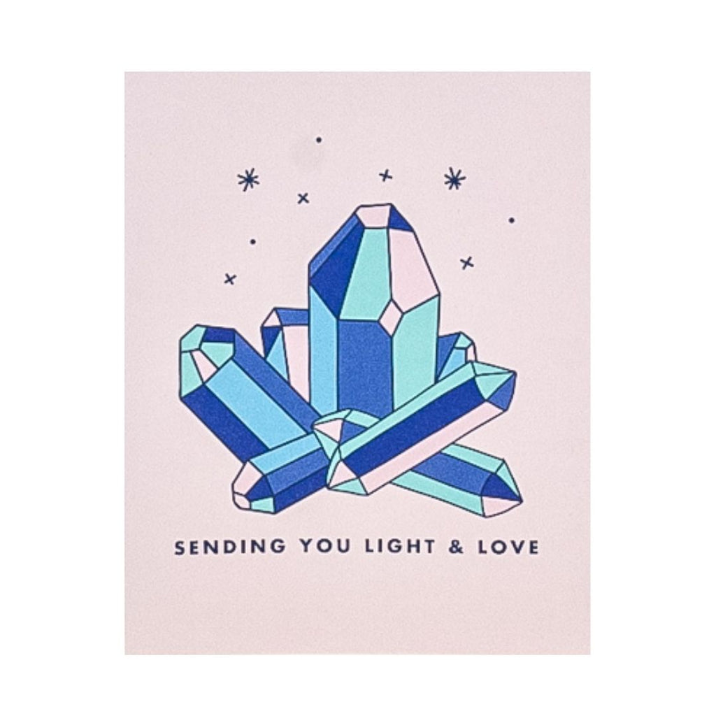Sending You Light and Love Card