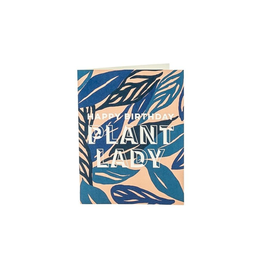 Happy Birthday Plant Lady Card