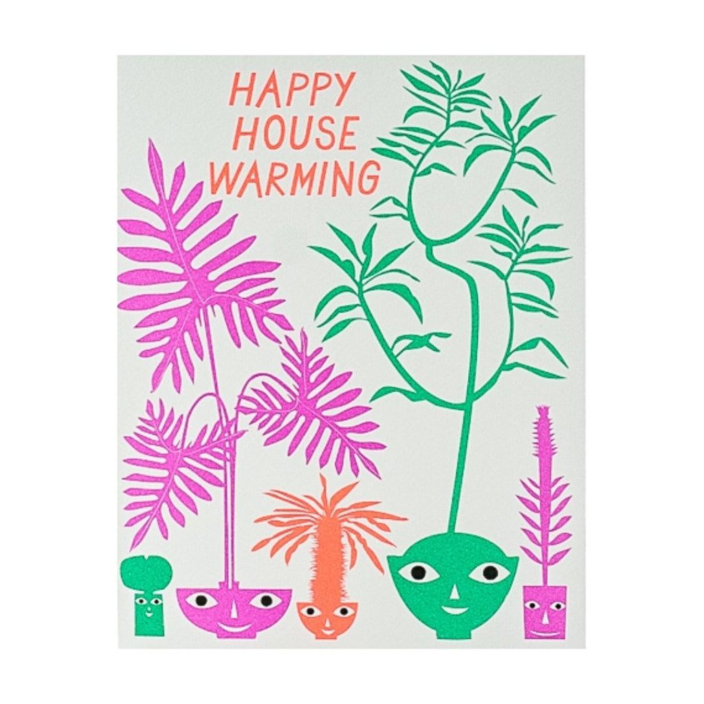 Happy Housewarming Houseplants Card