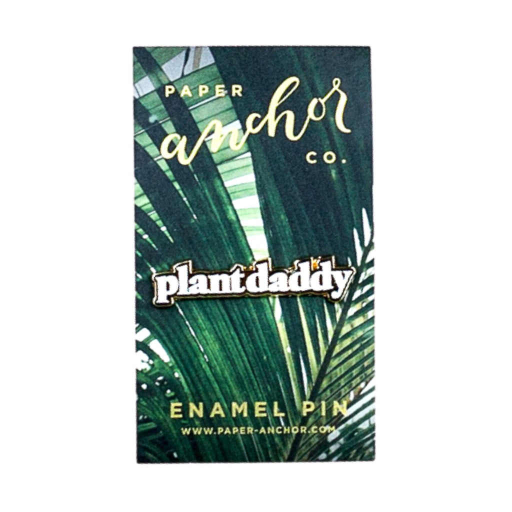 Plant Daddy Lapel Pin