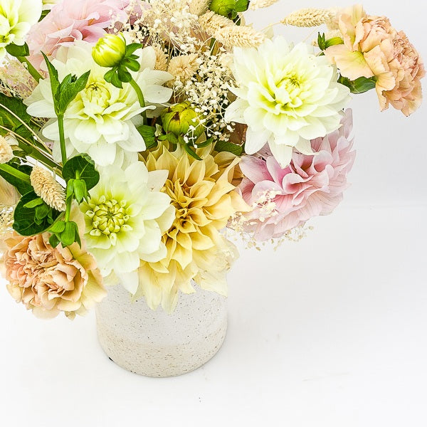 Dusty Dahlias Floral