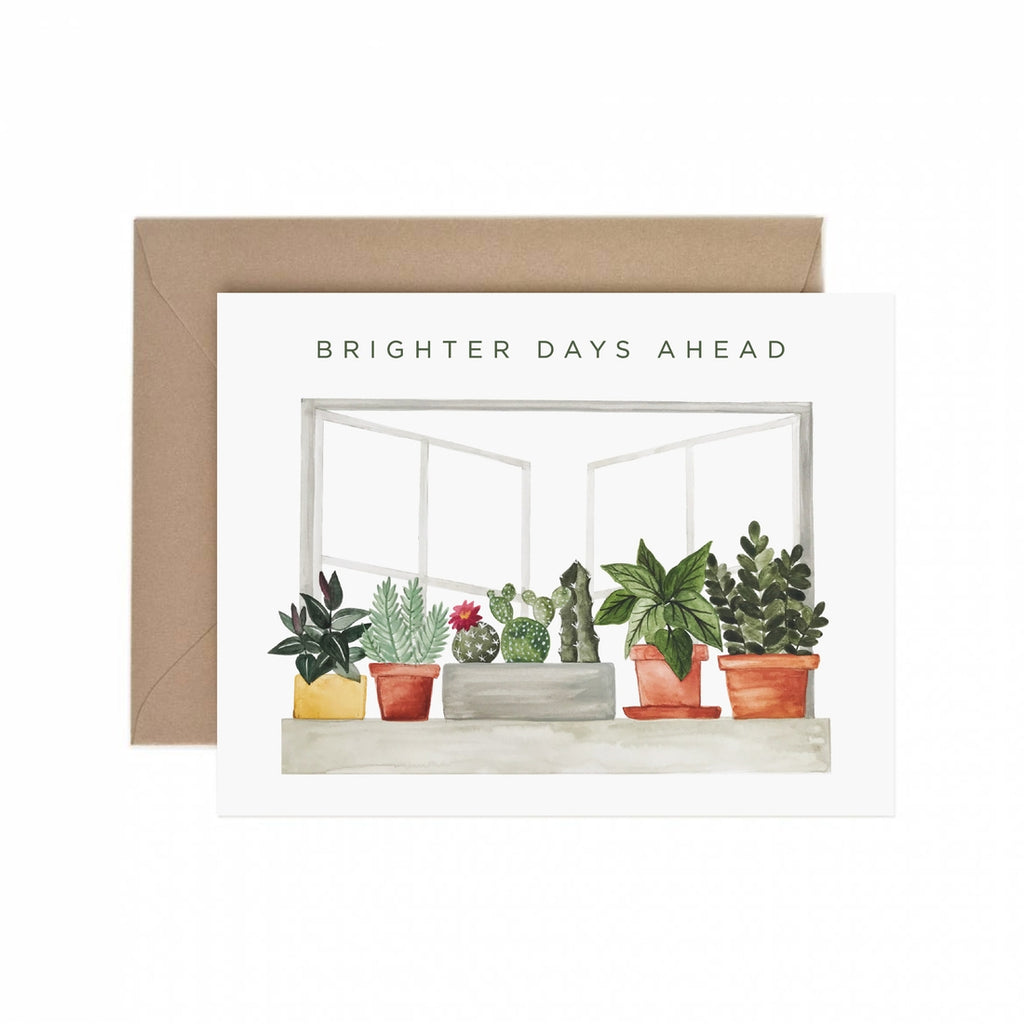 Brighter Days Ahead Card