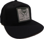 Black w/ Patch Hat