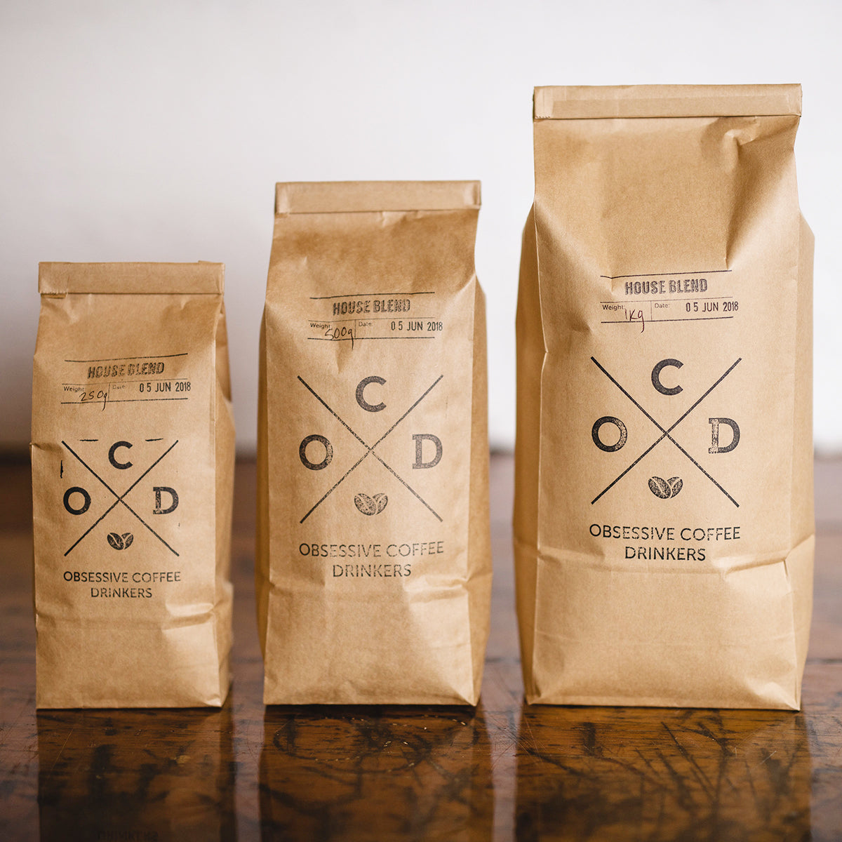 House Blend - OCD Coffee Bay of Plenty NZ