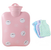 The best hot water bag for cramps-Rubber hot water bottle -Tricorium
