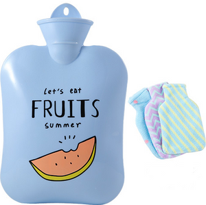 The best hot water bag for cramps-Rubber hot water bottle hot water bottle cover-Tricorium
