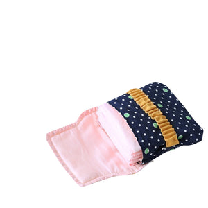 Sanitary Bag- Eco-friendly, reusable menstrual cloth pads, period underwear, and menstrual cups. Designed for Better Periods -Tricorium