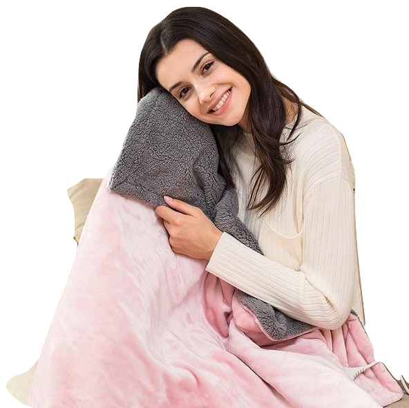 Electric Plush Heating Blanket