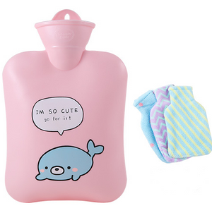 The best hot water bag for cramps-Rubber hot water bottle- hot water bottle cover -Tricorium