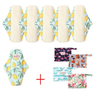 Organic Bamboo 6pc Eco Pad Set