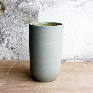 Vase, Stone Blue w/ crystal glaze (small)
