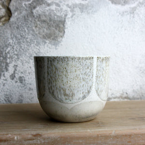 Coffee Cup, Light Stone Grey w/ brush strokes (250 ml)