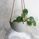 Hanging Bowl, Stone Blue (mini)