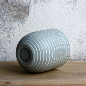 Coffee Cup, Stone Blue w/ glazed stripes (200 ml)