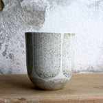Coffee Cup, Light Stone Grey w/ brush strokes (200 ml)