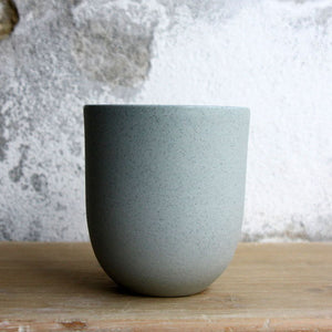 Coffee Cup, Stone Blue w/ crystal glaze (200 ml)