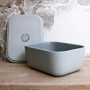 Butter Dish, Stone Blue w/ lid