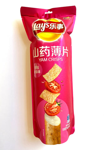 Lay's Yam Crisps Tomato (China)