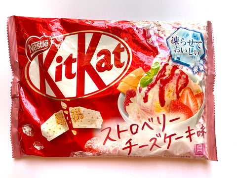 Kit Kat Strawberry Cheesecake Ice Cream (Japan)
