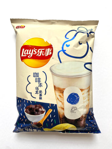 Lay's Coffee Oolong Milk Tea (China)