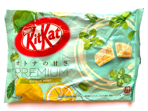Kit Kat Premium Citrus Mint (Japan)